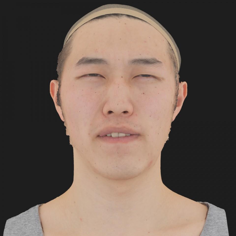 Oliver Okada 15 Phoneme Hard FV-Eye Squint