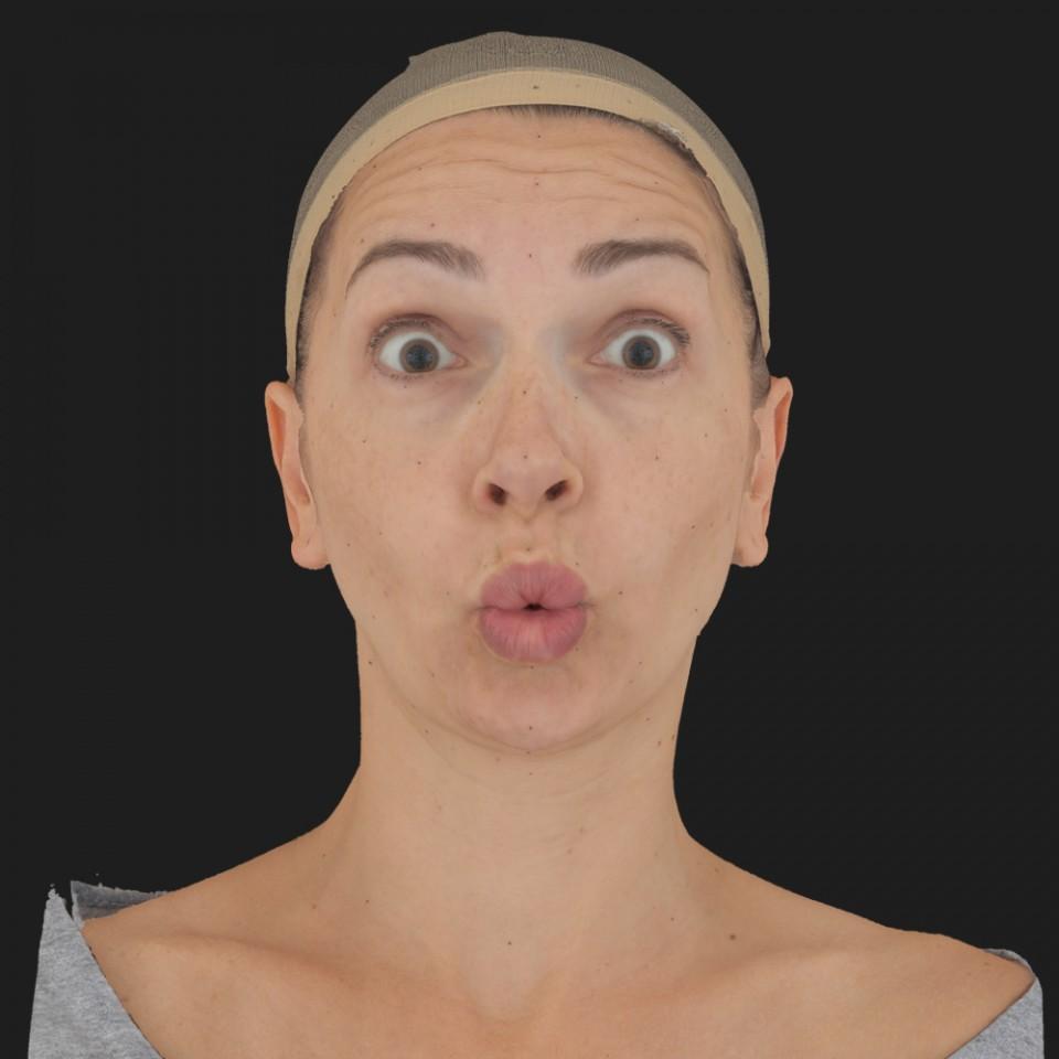 Olivia Rose 11 Phoneme OO-Brow Raise Eyes Open Wide