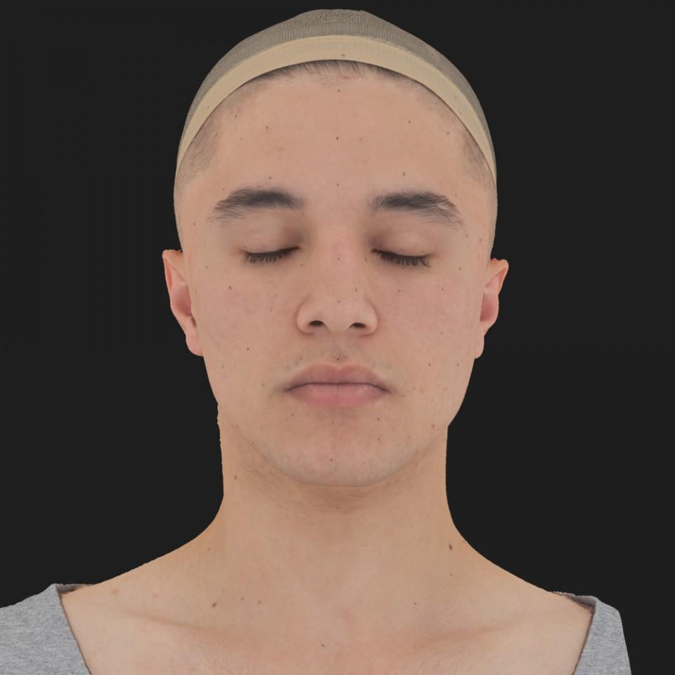 Paul Samatar 02 Neutral-Eyes Closed