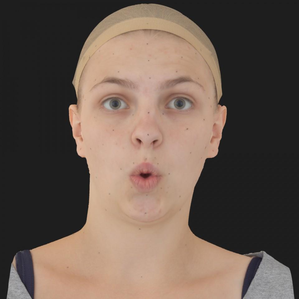 Penny Carlson 11 Phoneme OO-Brow Raise Eyes Open Wide