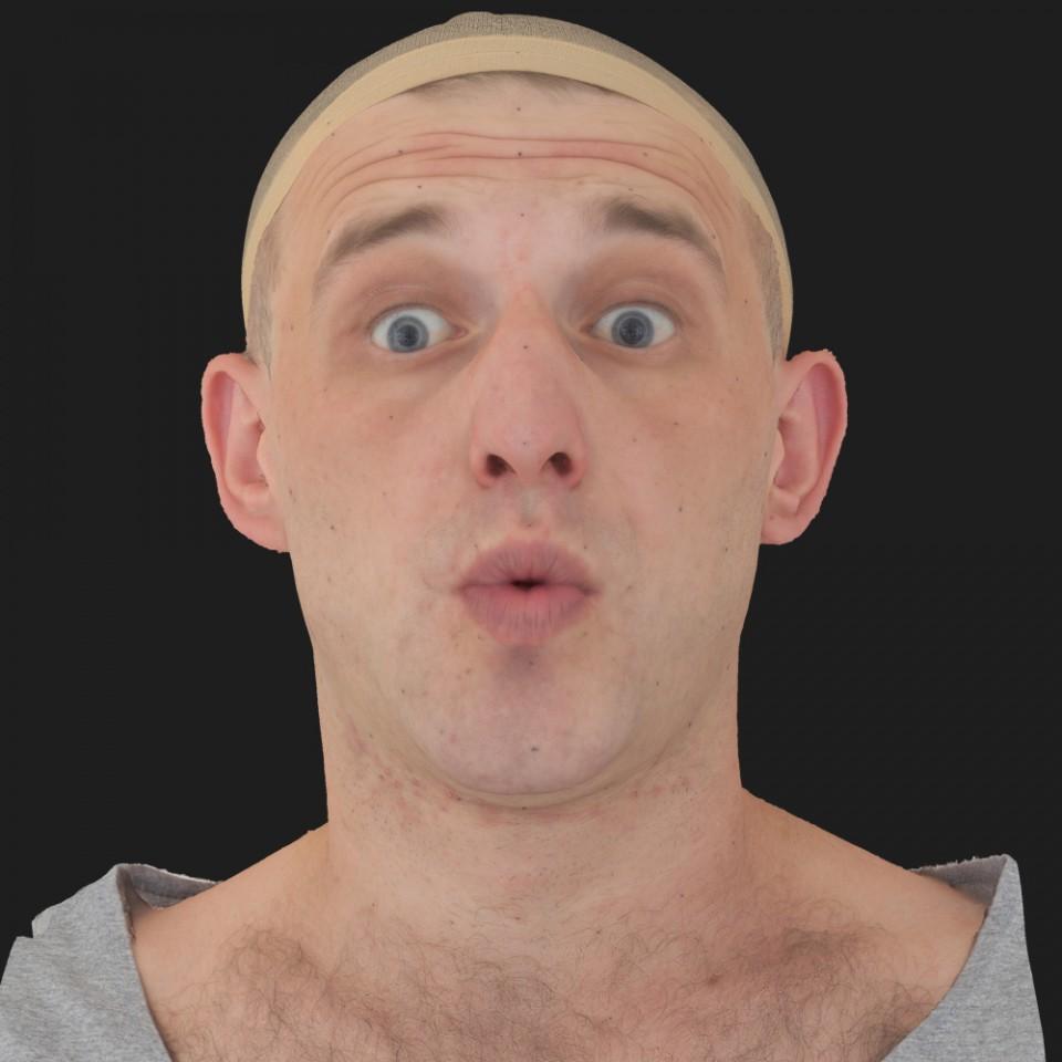 Peter Bonican 11 Phoneme OO-Brow Raise Eyes Open Wide