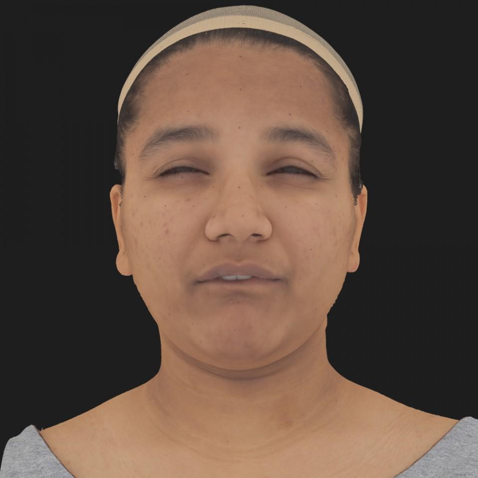Priyanka Basu 15 Phoneme Hard FV-Eye Squint