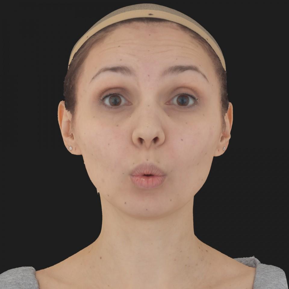 Rachel Gonzalez 11 Phoneme OO-Brow Raise Eyes Open Wide
