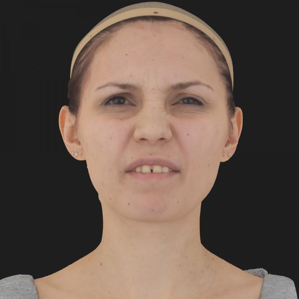 Rachel Gonzalez 15 Phoneme Hard FV-Eye Squint
