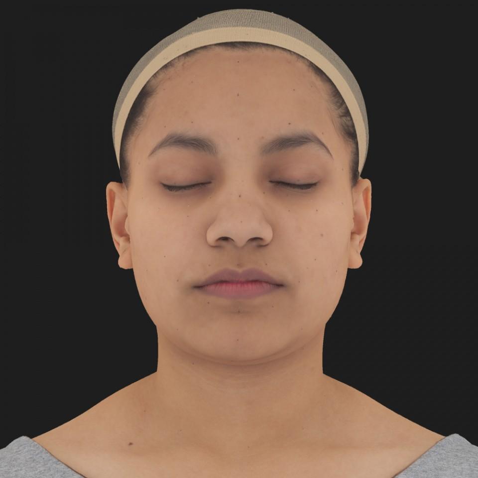 Rebecca Chopra 02 Neutral-Eyes Closed