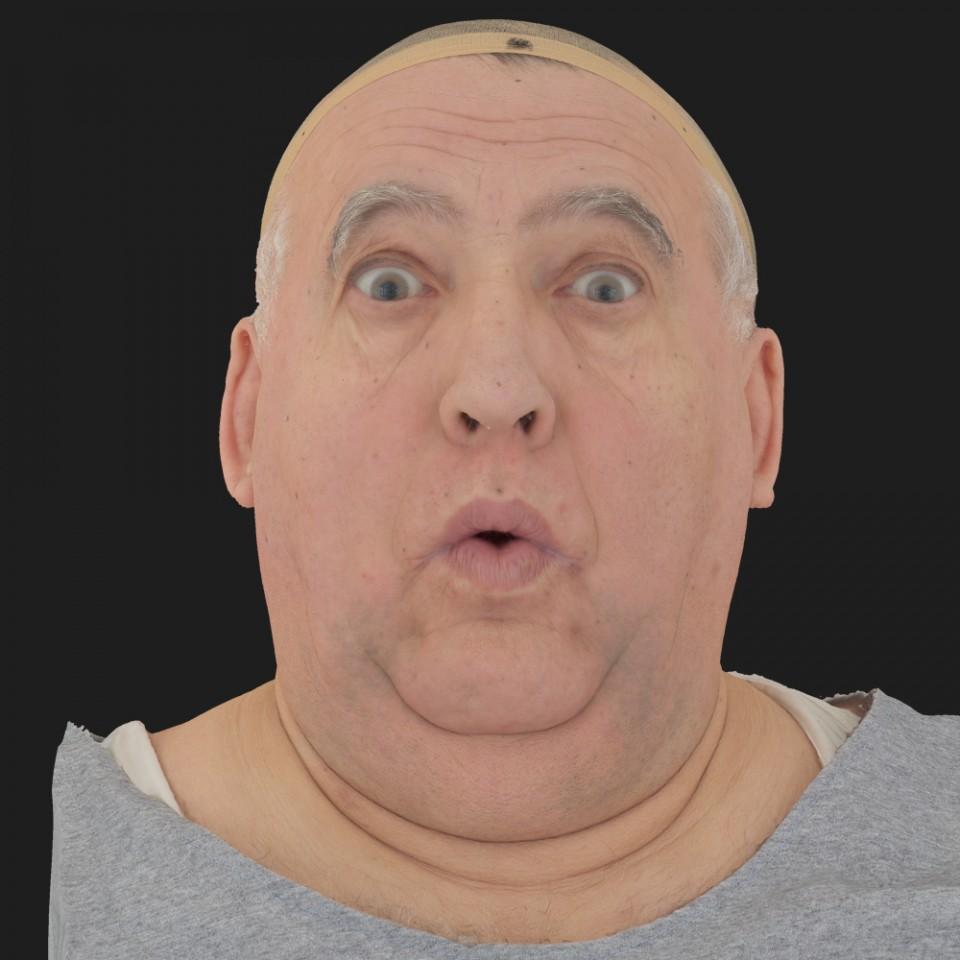 Richard Stoney 11 Phoneme OO-Brow Raise Eyes Open Wide