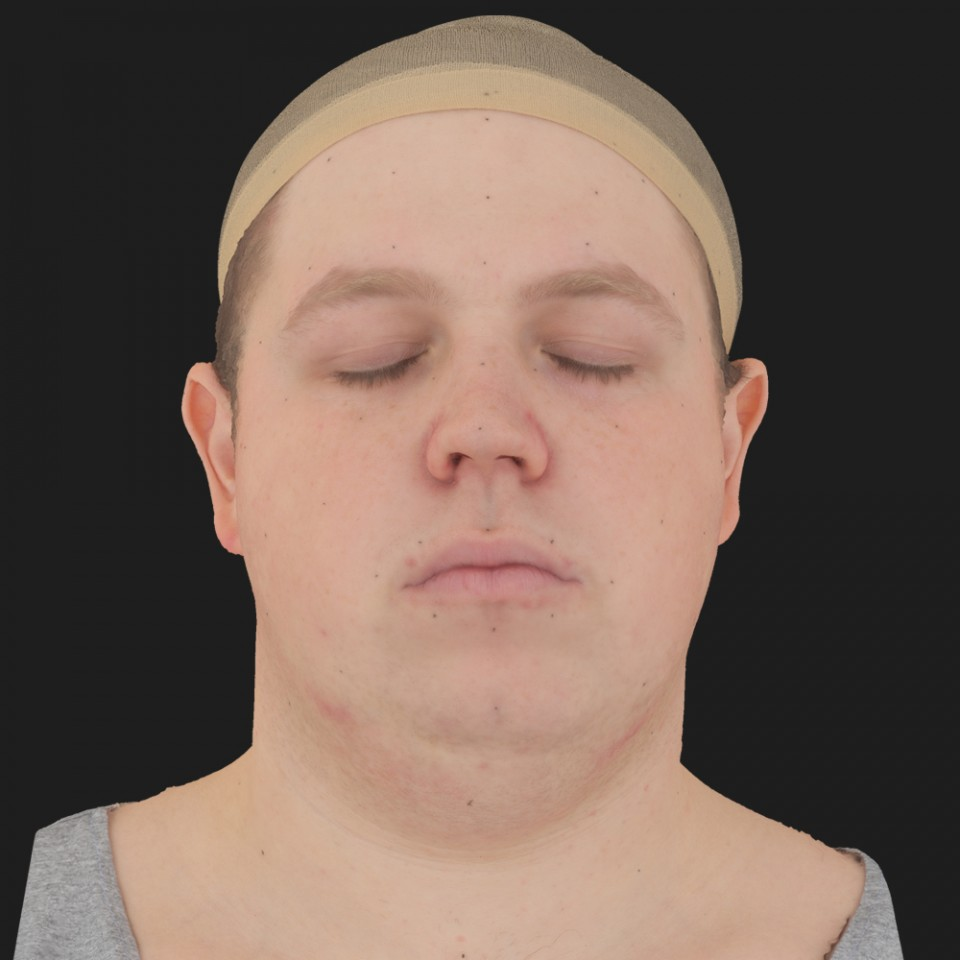 Ricky Walker 02 Neutral-Eyes Closed