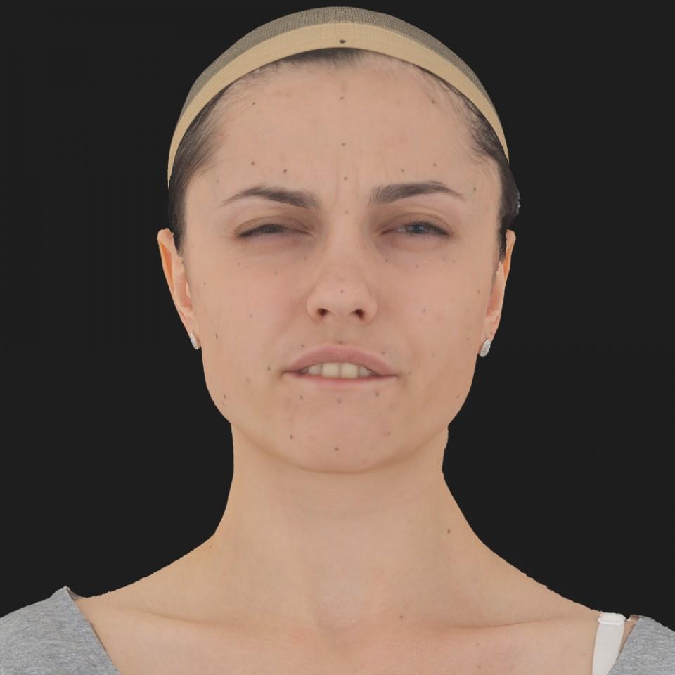 Rose Johnson 15 Phoneme Hard FV-Eye Squint