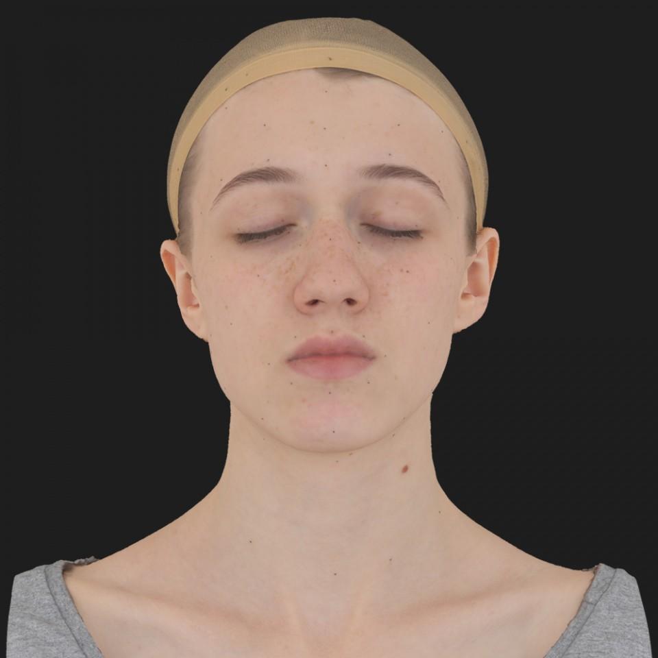 Ruby Farkas 02 Neutral-Eyes Closed