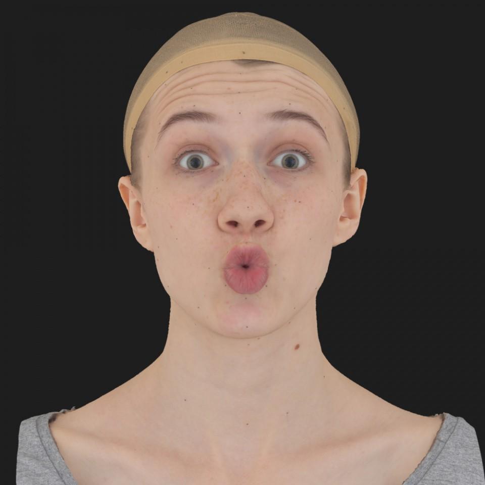 Ruby Farkas 11 Phoneme OO-Brow Raise Eyes Open Wide