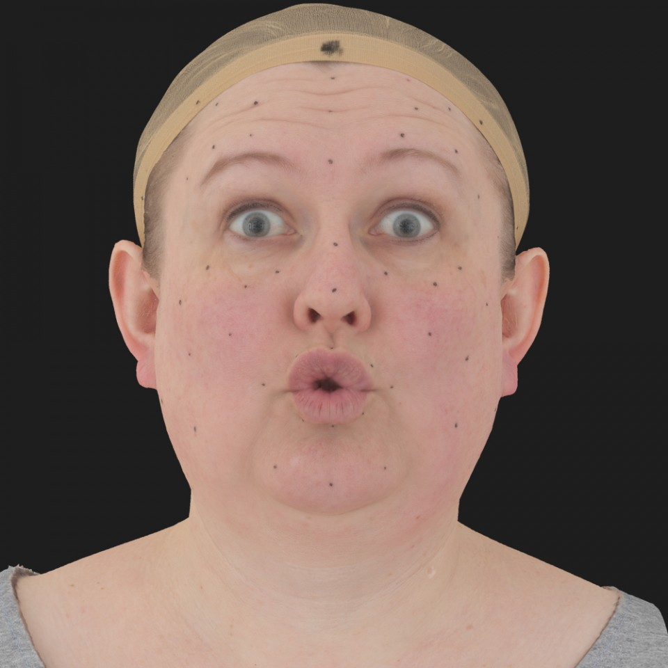 Ruth Morgan 11 Phoneme OO-Brow Raise Eyes Open Wide
