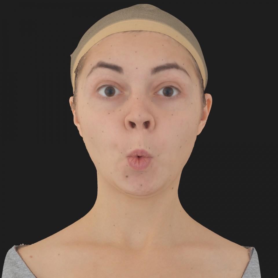 Sabrina Stewart 11 Phoneme OO-Brow Raise Eyes Open Wide