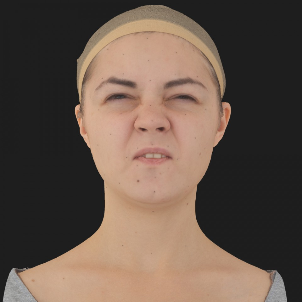 Sabrina Stewart 15 Phoneme Hard FV-Eye Squint