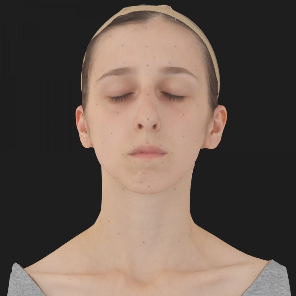 Sally Alvarado 02 Neutral-Eyes Closed