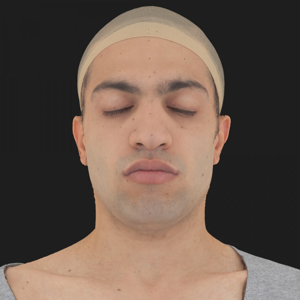 Samir Farsut 02 Neutral-Eyes Closed