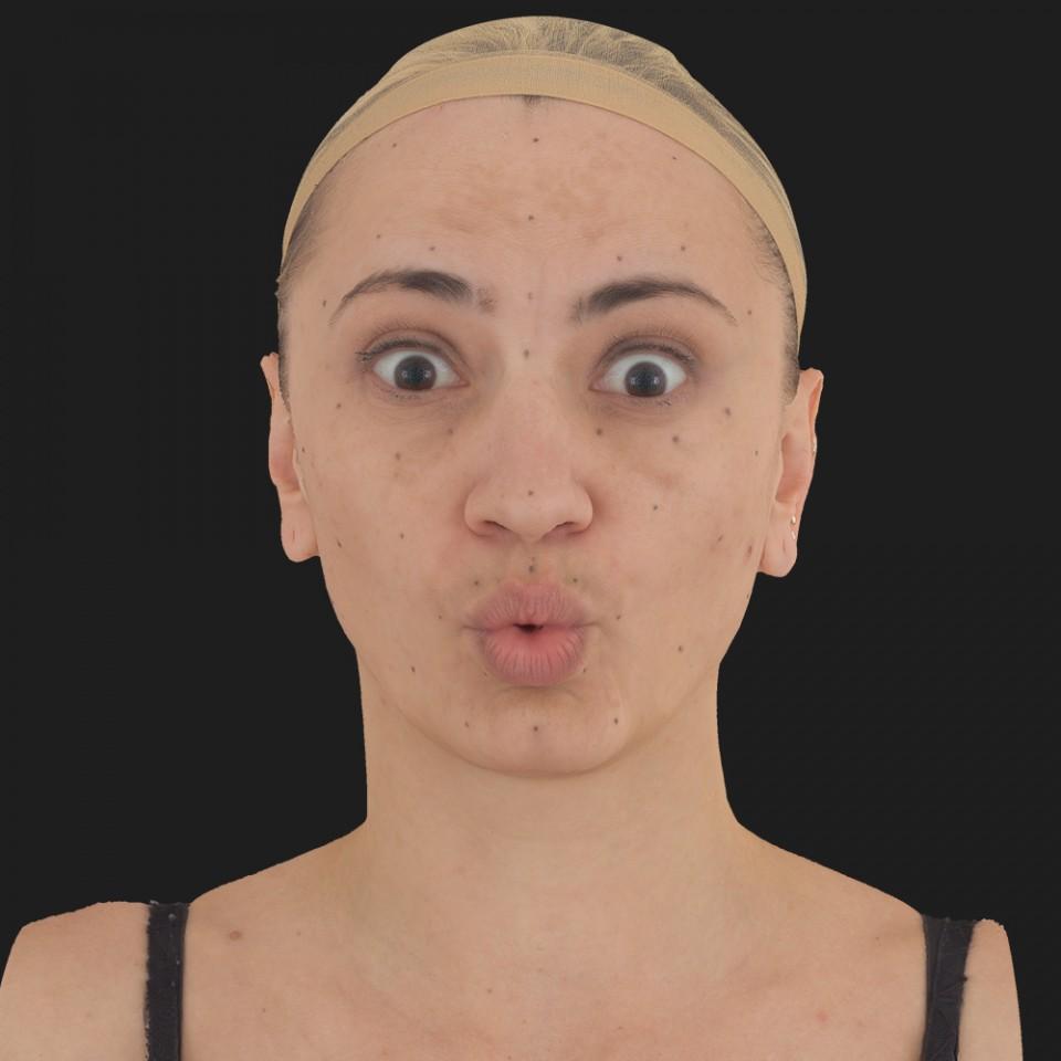 Sheri Howell 11 Phoneme OO-Brow Raise Eyes Open Wide