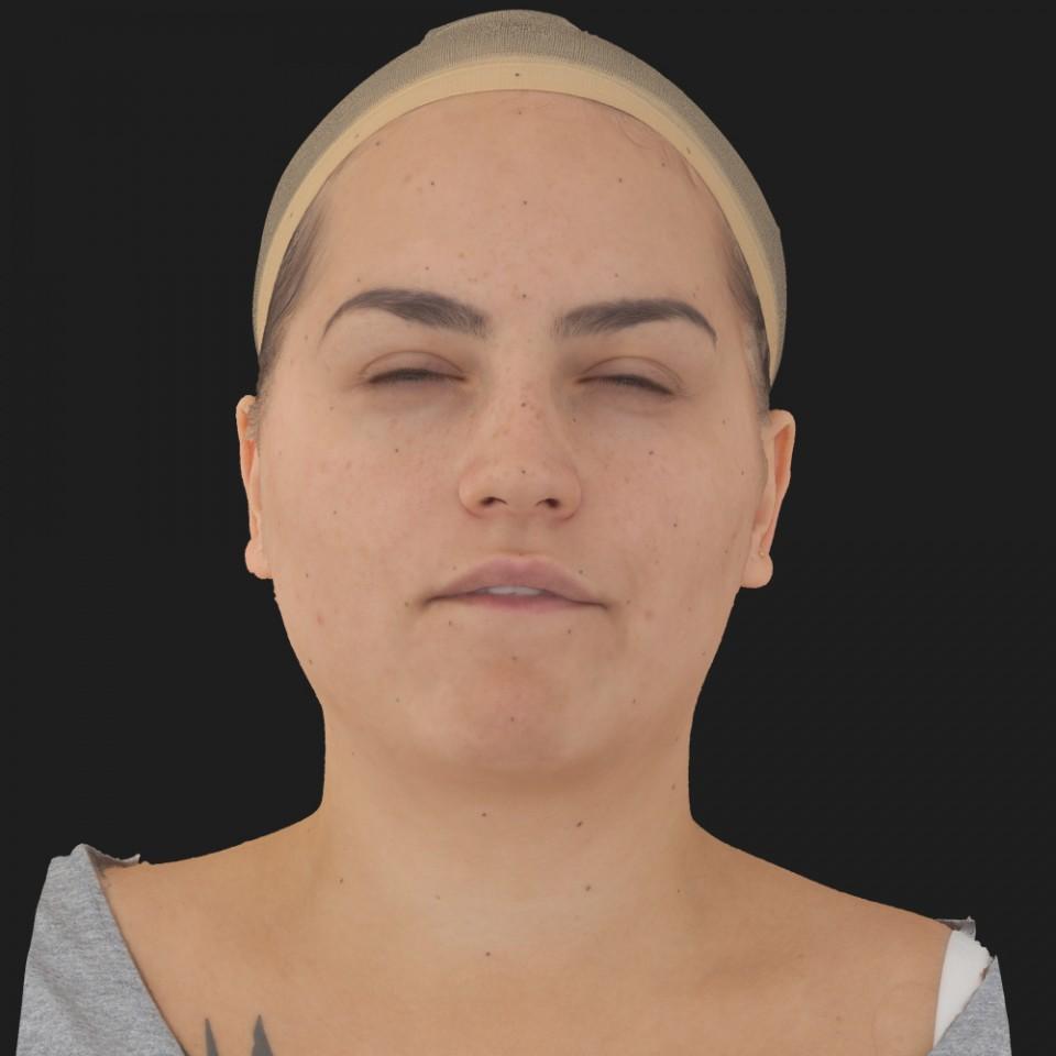 Sheryl Mckinney 15 Phoneme Hard FV-Eye Squint