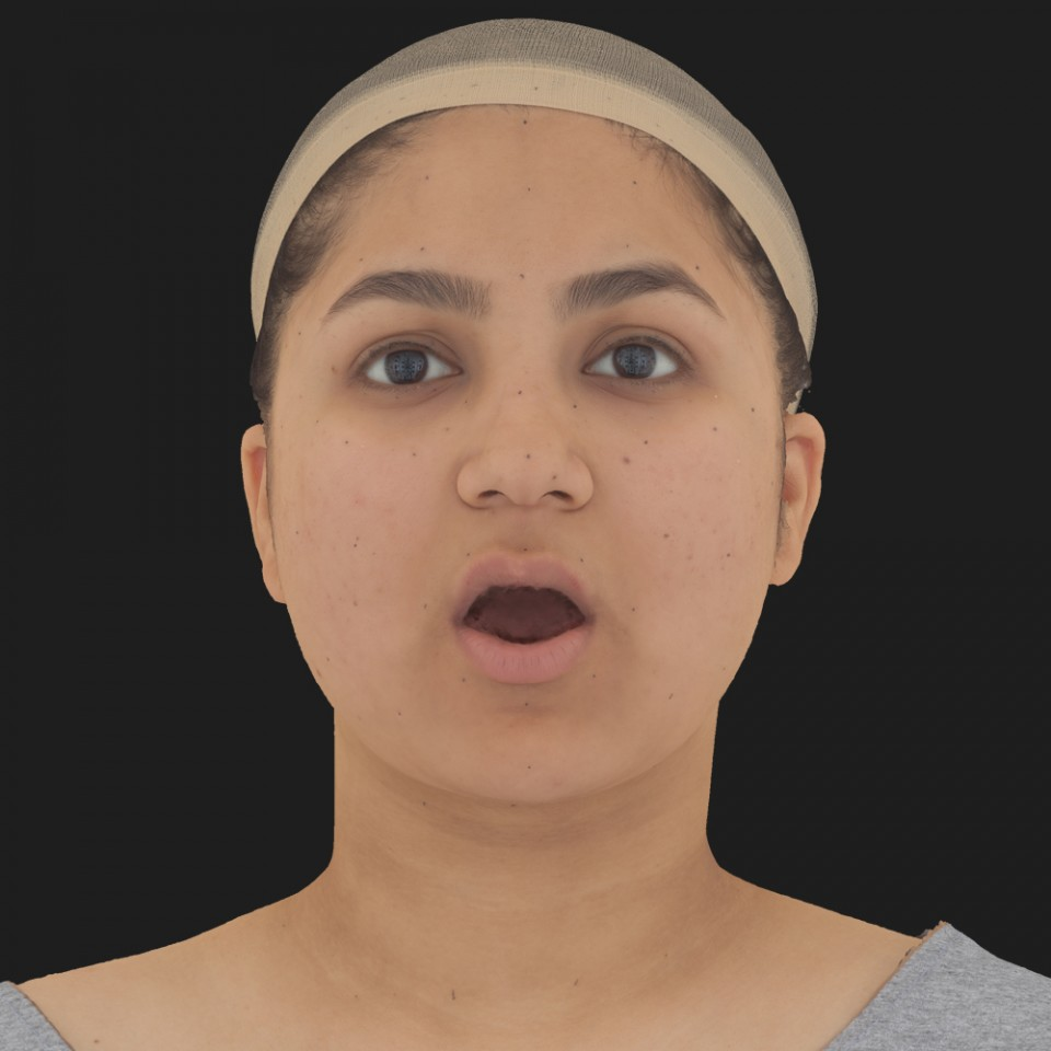 Sophie Acharya 05 Jaw Open