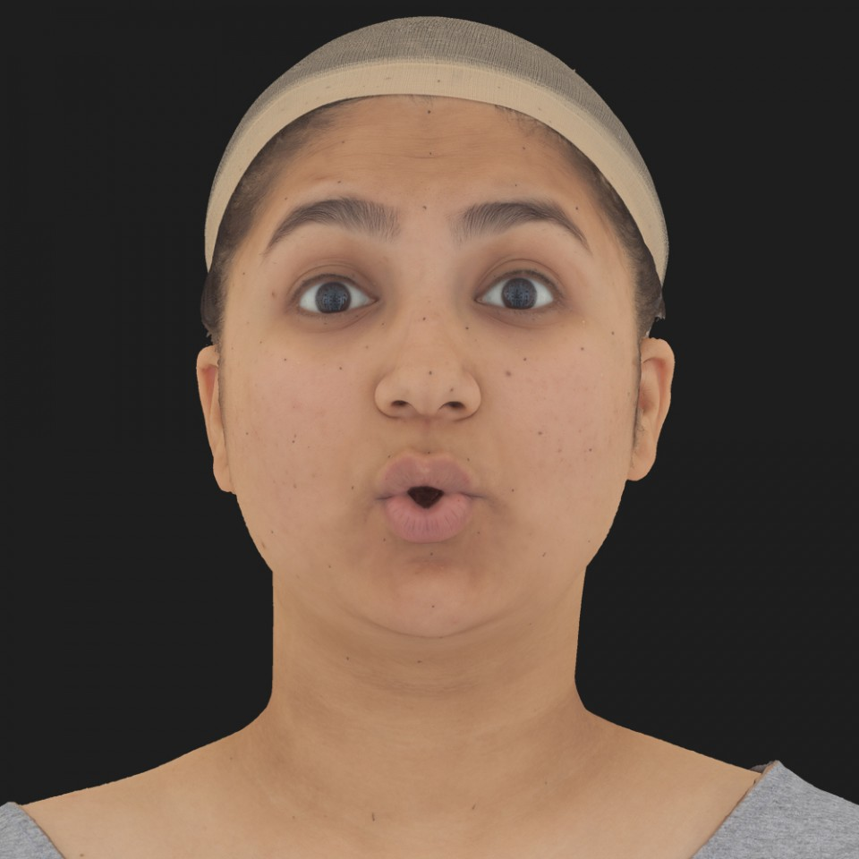 Sophie Acharya 11 Phoneme OO-Brow Raise Eyes Open Wide