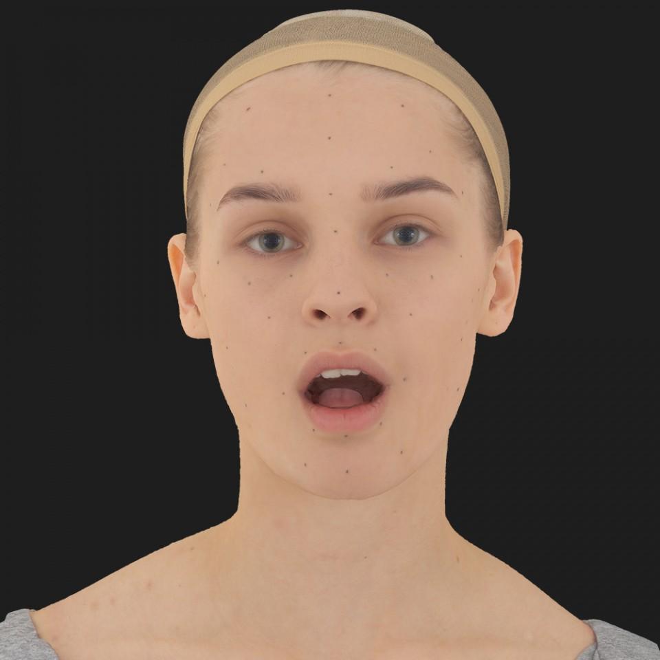 Sophie Bell 05 Jaw Open