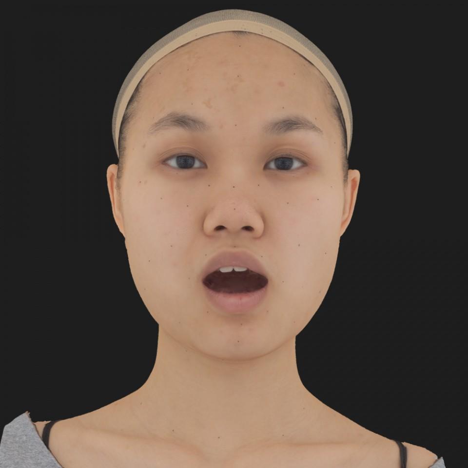 Sophie Tiu 05 Jaw Open