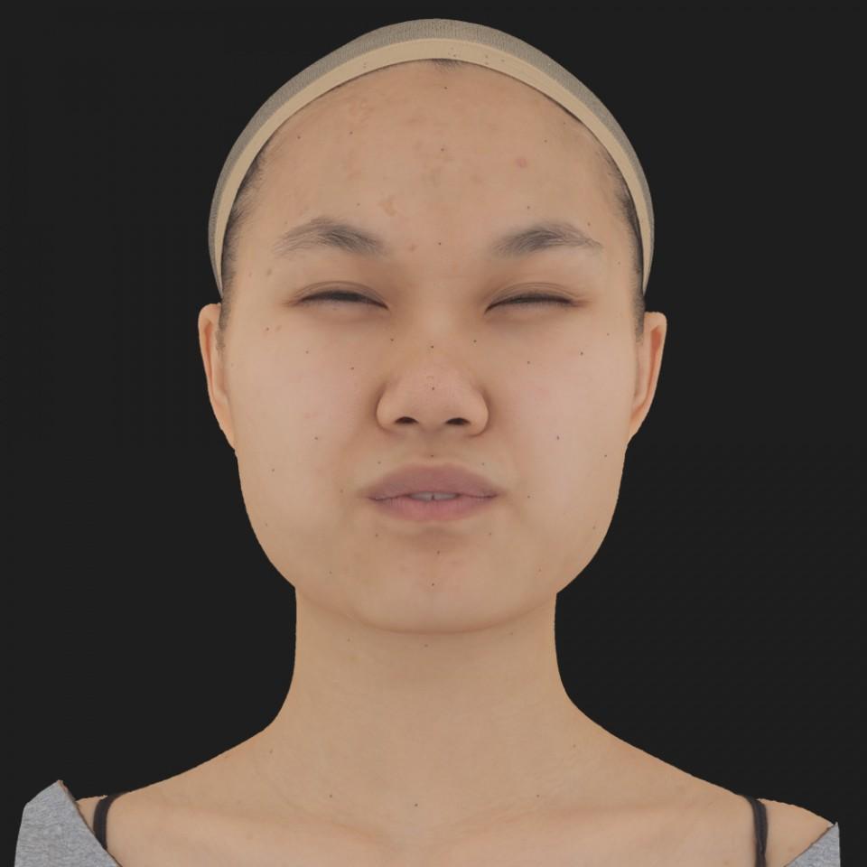 Sophie Tiu 15 Phoneme Hard FV-Eye Squint
