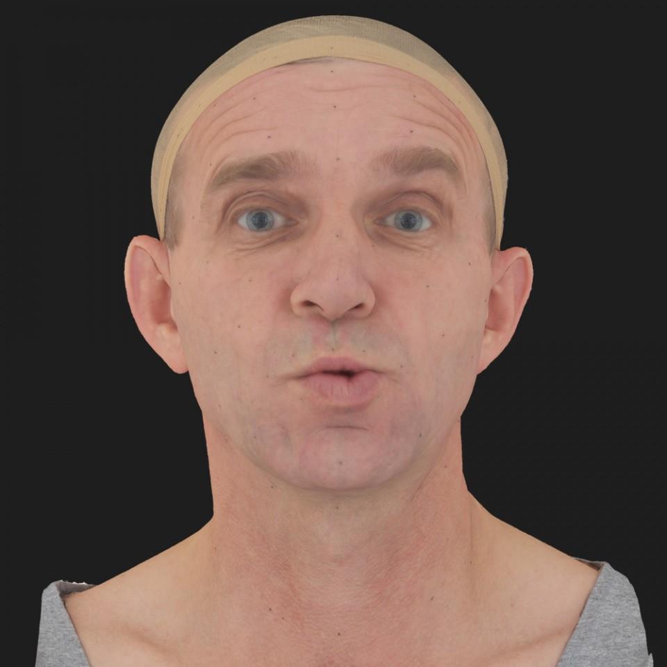 Stephan Brooks 11 Phoneme OO-Brow Raise Eyes Open Wide