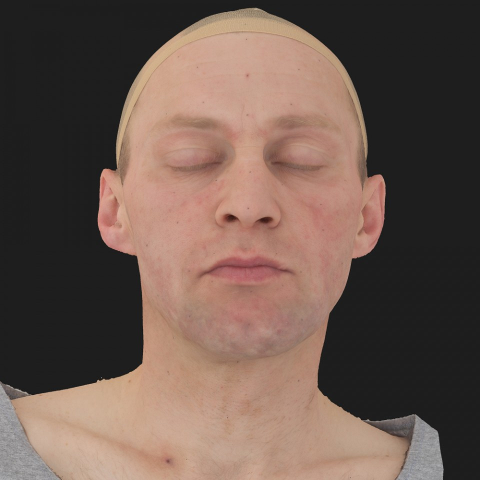 Steve Johnson 02 Neutral-Eyes Closed