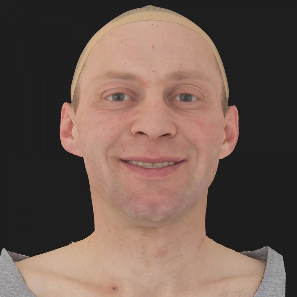 Steve Johnson 04 Smile-Mouth Open