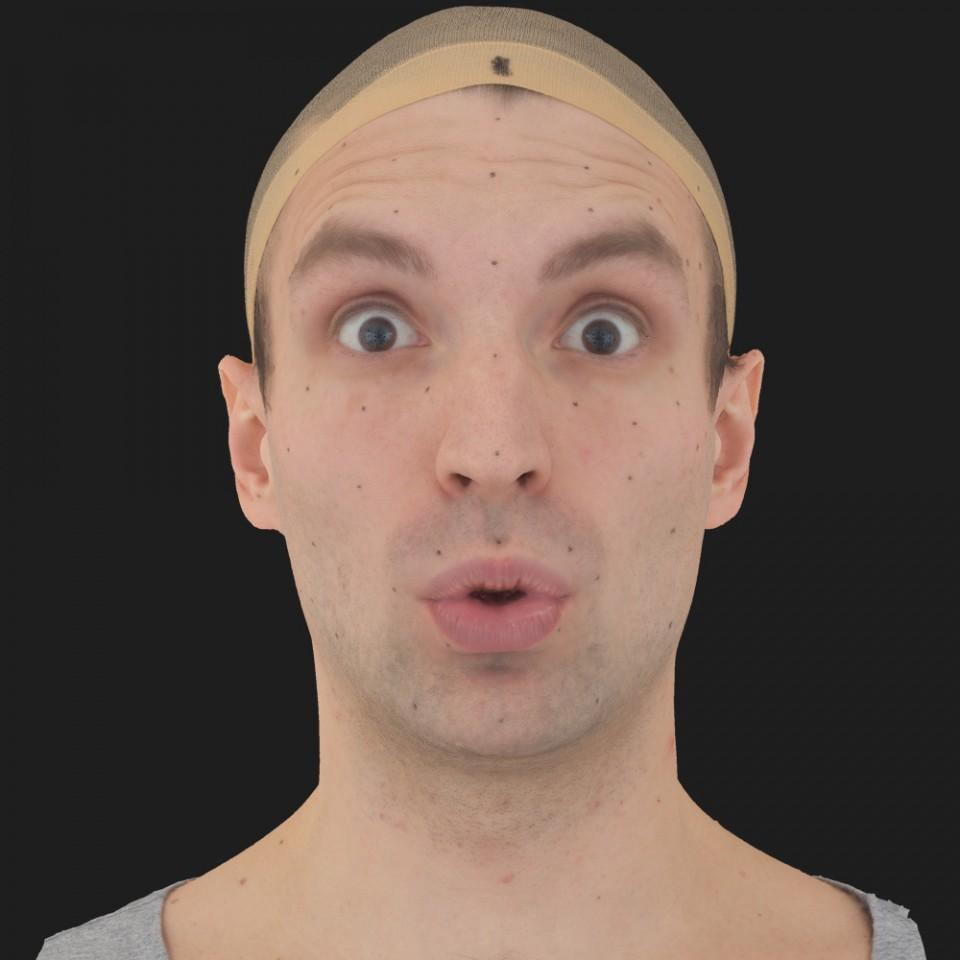 Steve Martin 11 Phoneme OO-Brow Raise Eyes Open Wide