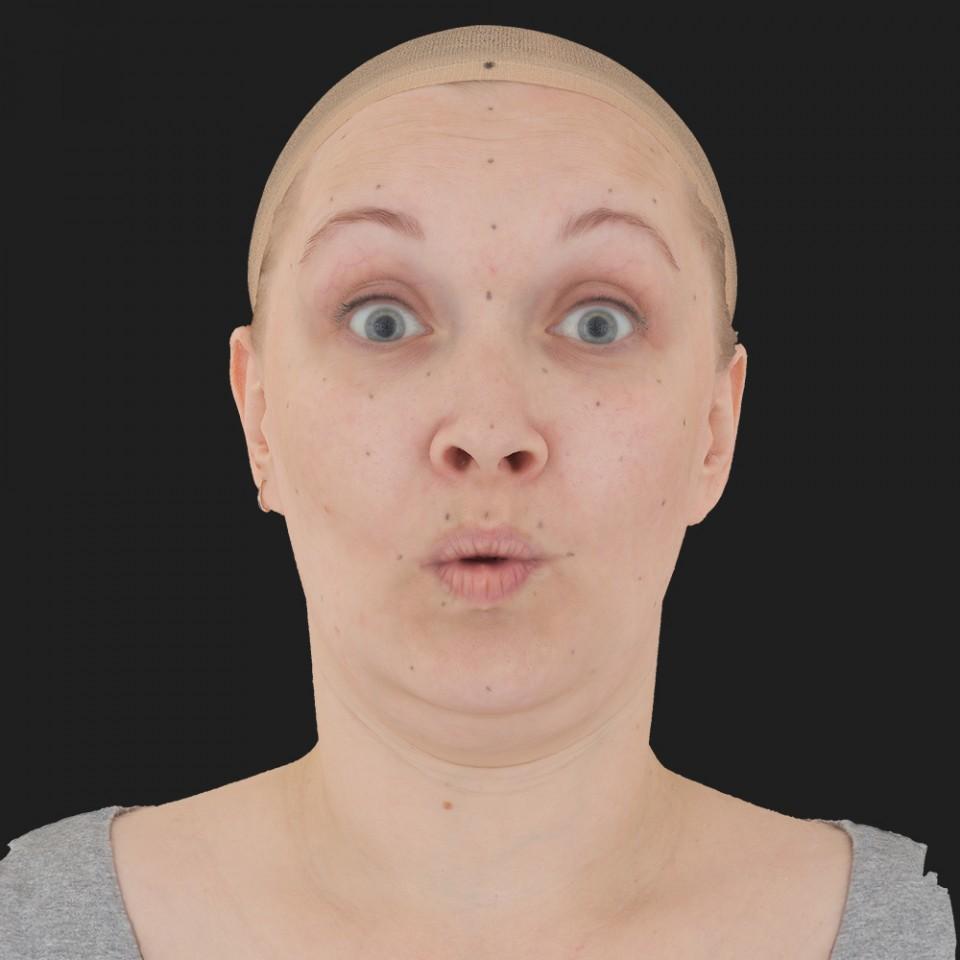 Susan Alexander 11 Phoneme OO-Brow Raise Eyes Open Wide