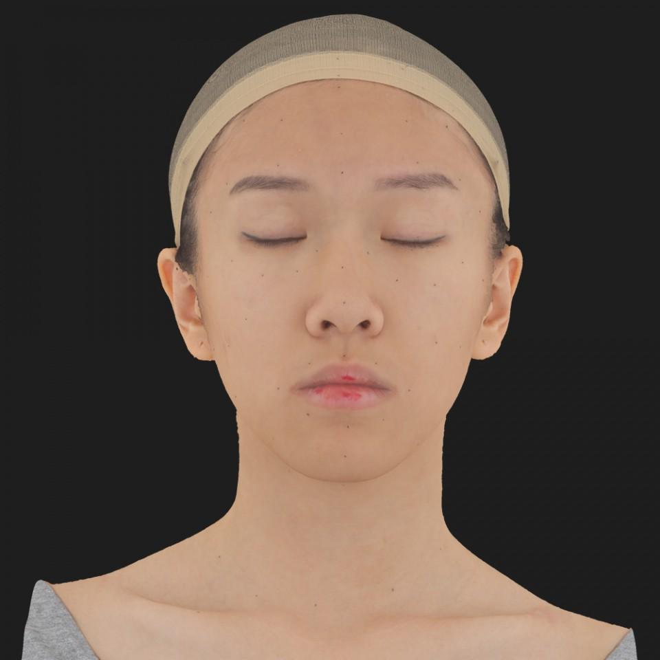 Tao Jin 02 Neutral-Eyes Closed