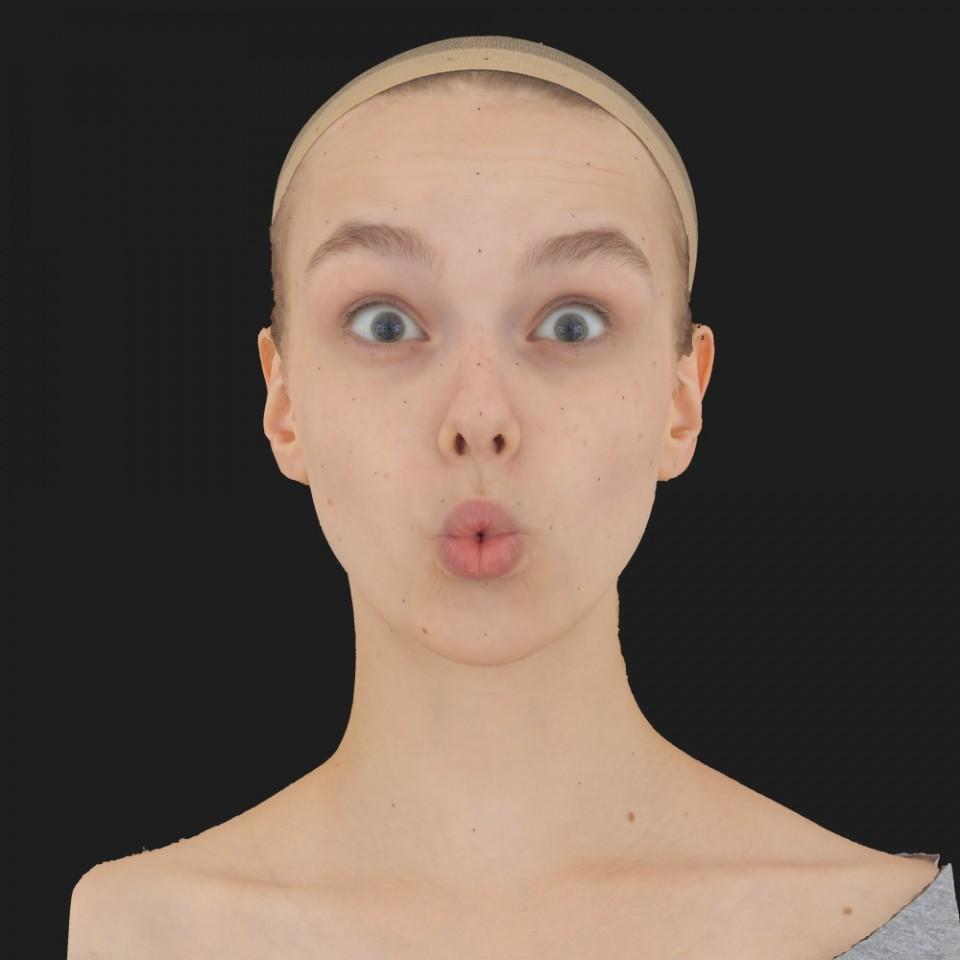 Tessa Phillips 11 Phoneme OO-Brow Raise Eyes Open Wide