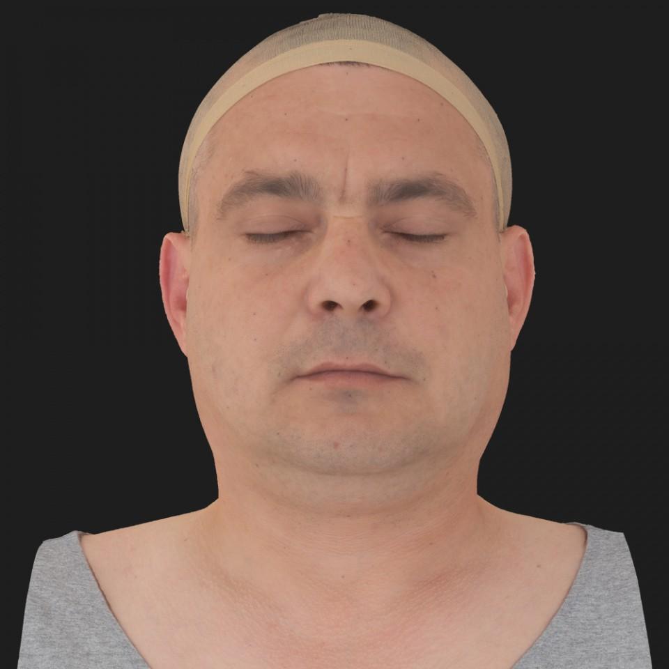 Tim Glanfield 02 Neutral-Eyes Closed
