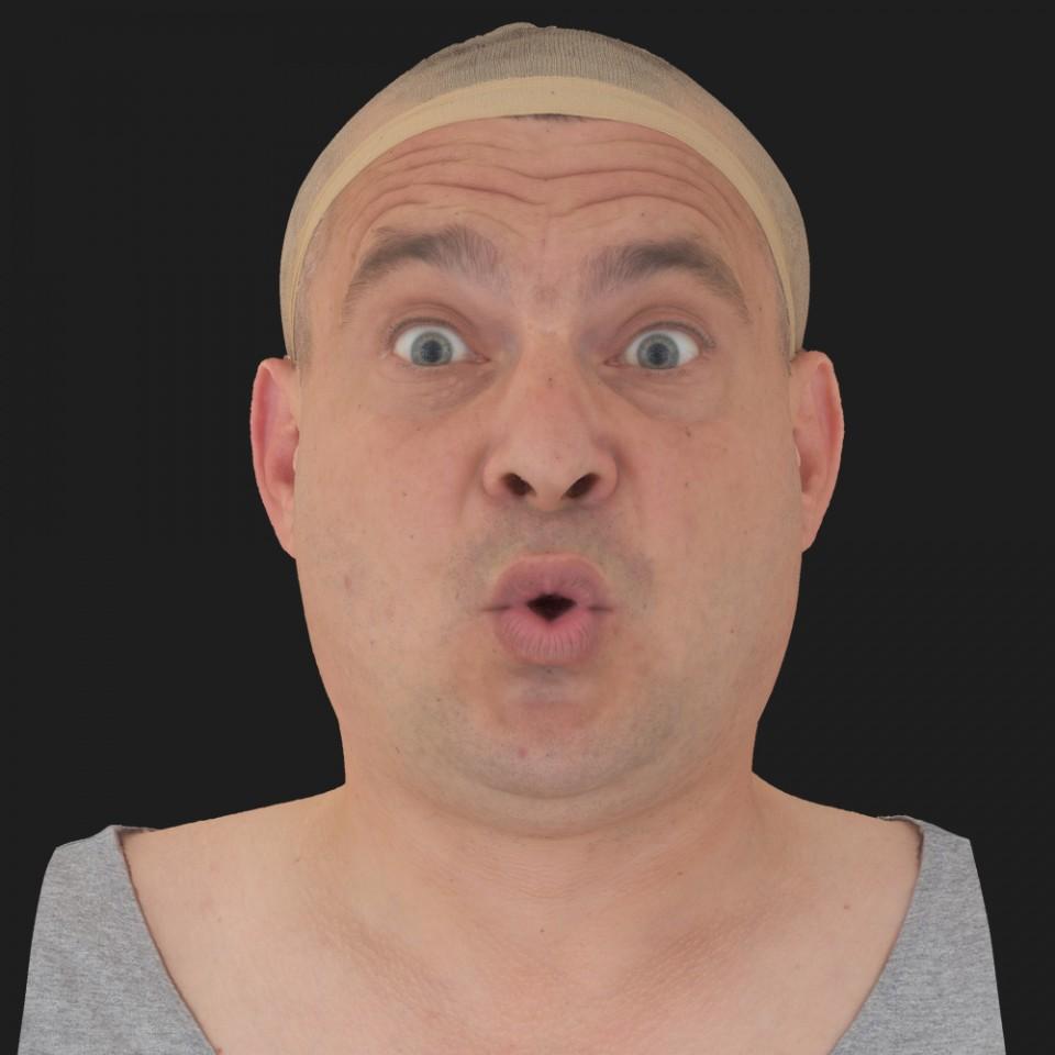 Tim Glanfield 11 Phoneme OO-Brow Raise Eyes Open Wide