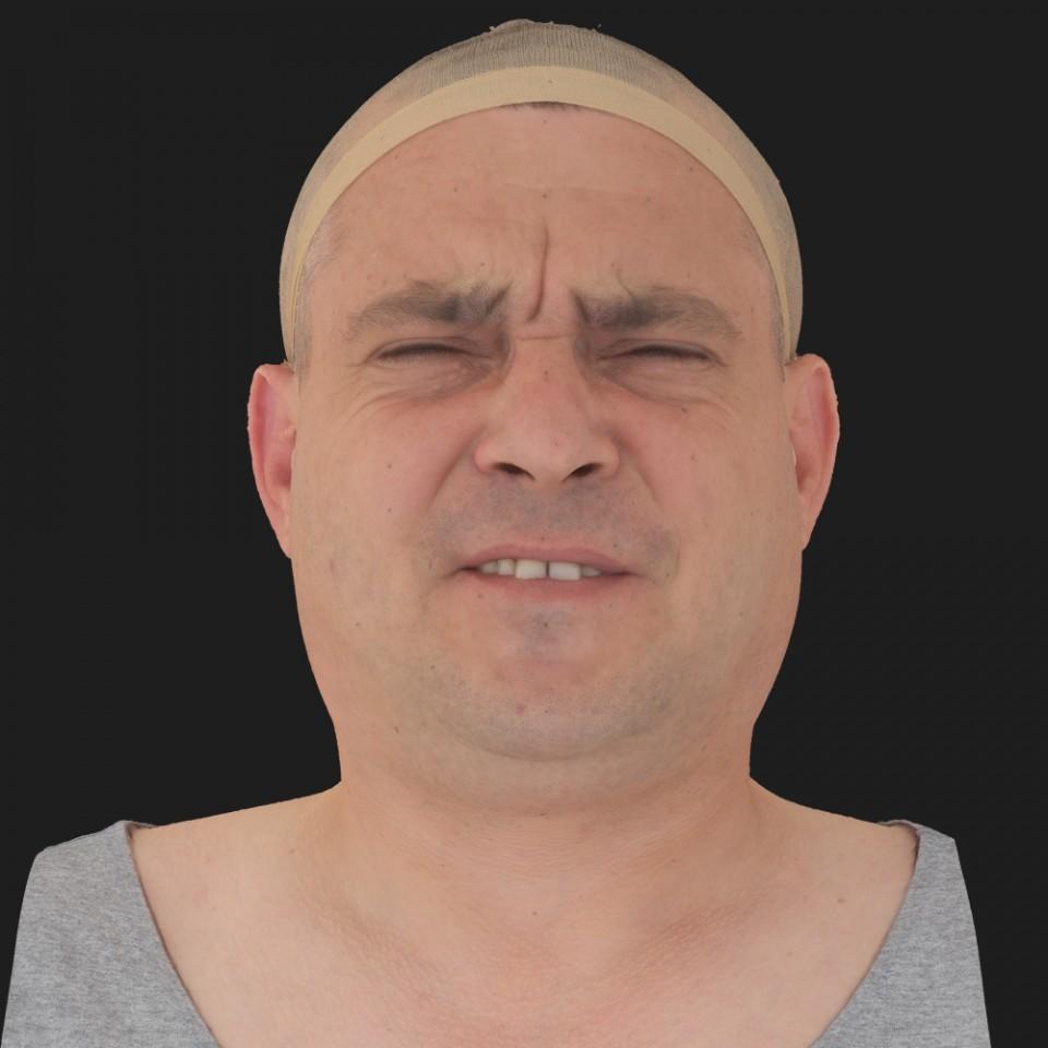 Tim Glanfield 15 Phoneme Hard FV-Eye Squint