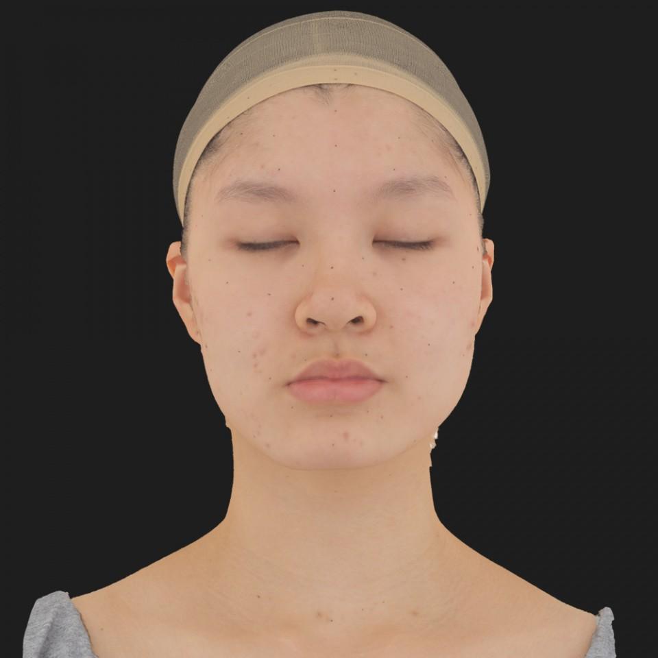 Valeria Kioto 02 Neutral-Eyes Closed