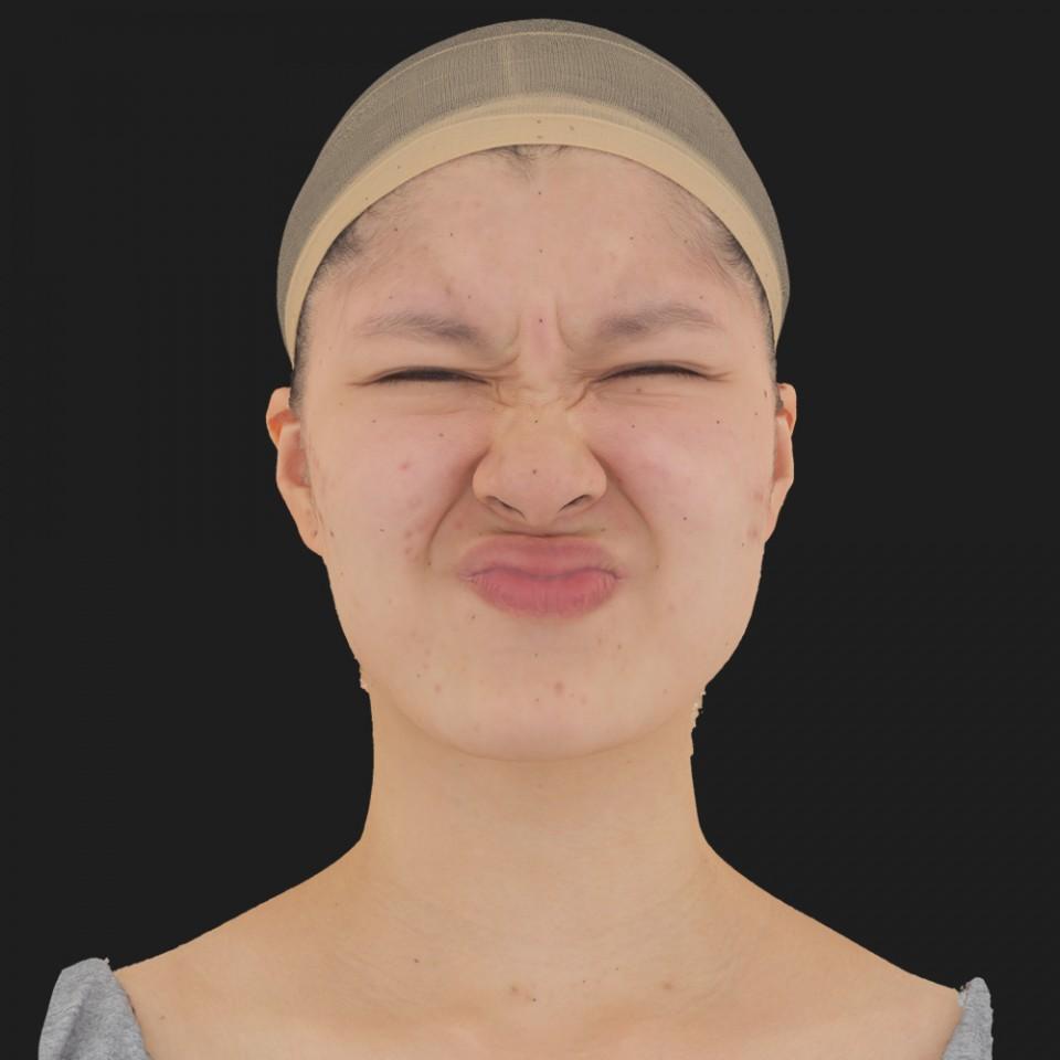 Valeria Kioto 06 Face Compression