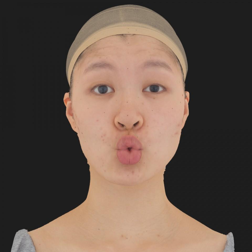 Valeria Kioto 11 Phoneme OO-Brow Raise Eyes Open Wide