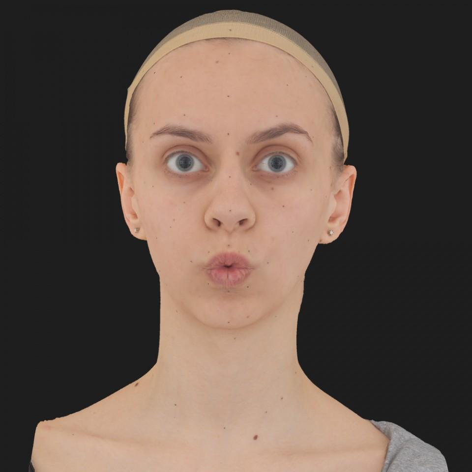 Vanessa Taylor 11 Phoneme OO-Brow Raise Eyes Open Wide