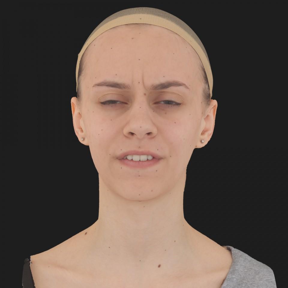 Vanessa Taylor 15 Phoneme Hard FV-Eye Squint
