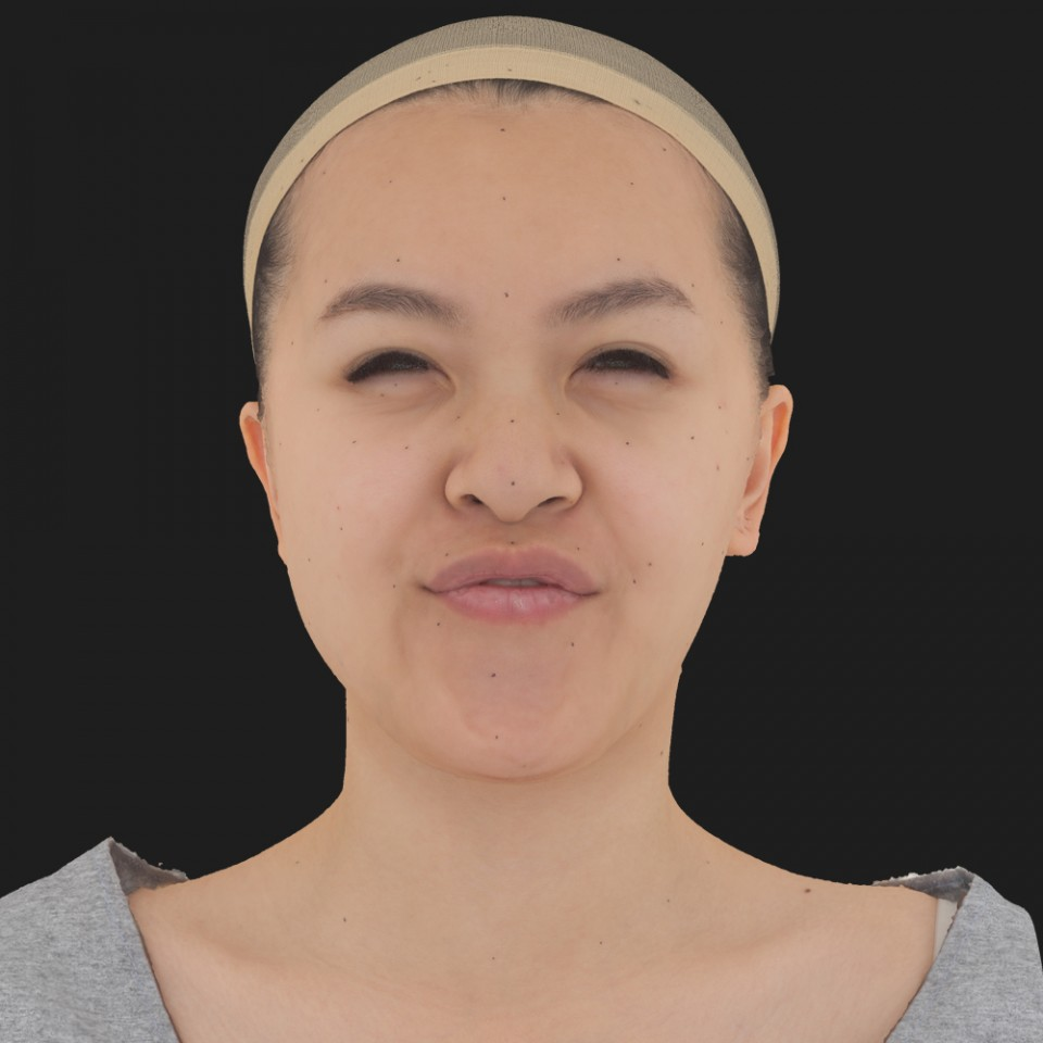Victoria Chow 15 Phoneme Hard FV-Eye Squint