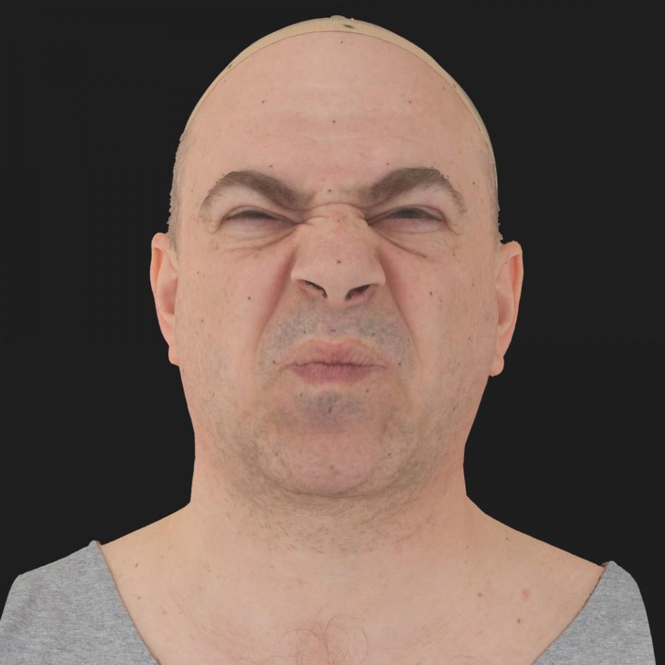 Walter Jones 06 Face Compression