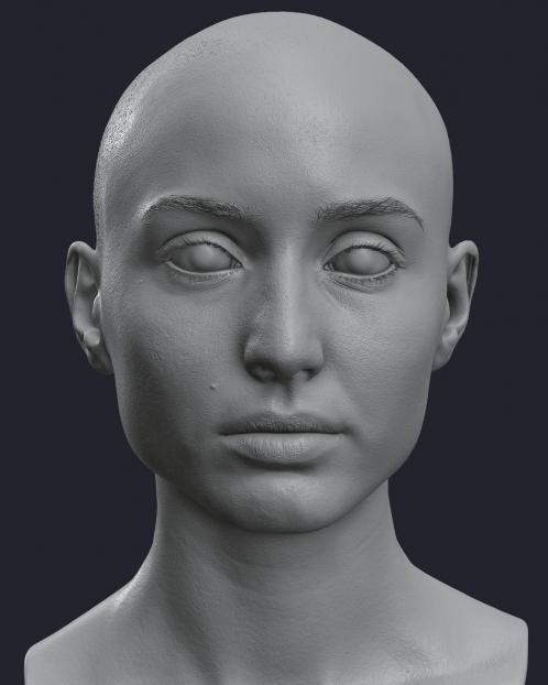 Maria Evans Sculpt